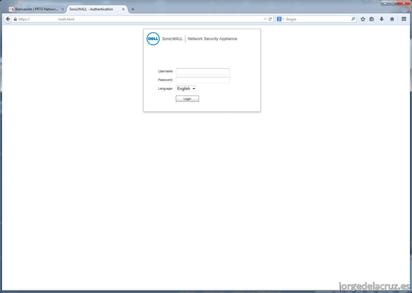 PRTG: Monitorizando Interfaces y VLAN en Sonicwall - El Blog