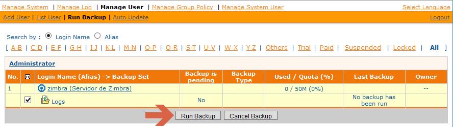 Zimbra backups de logs con ashay el blog de jorge de la for Mail zimbra ministerio del interior