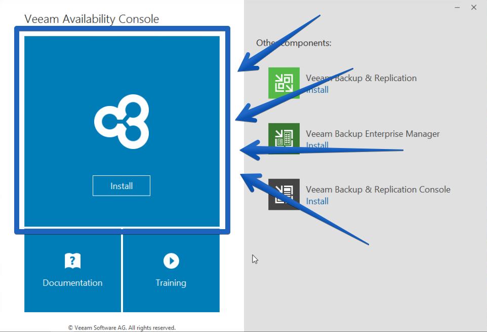 Veeam: Veeam Availability Console, parte II - El Blog de Jorge de la