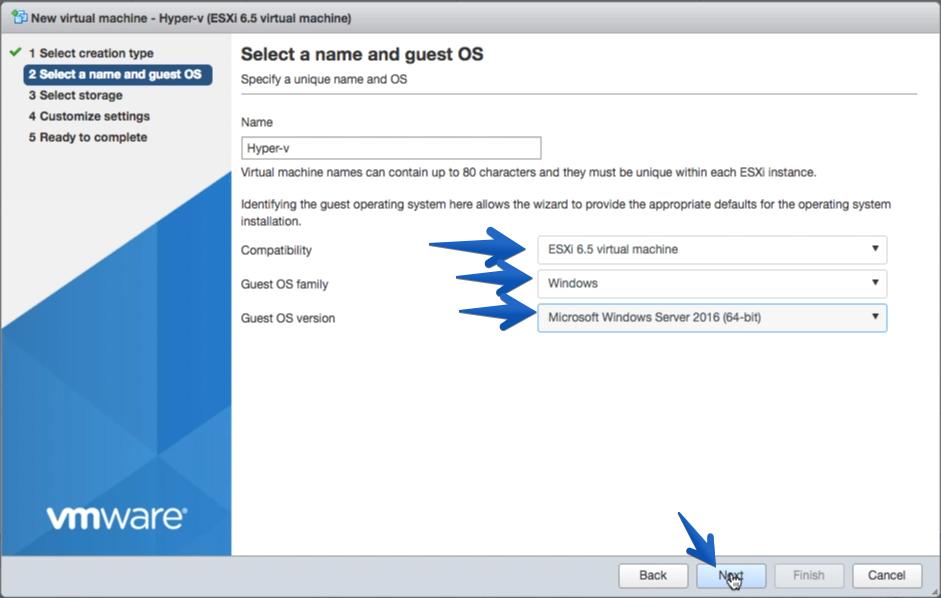 VMware: Windows Server 2016 con PVSCSI (Paravirtual SCSI) y