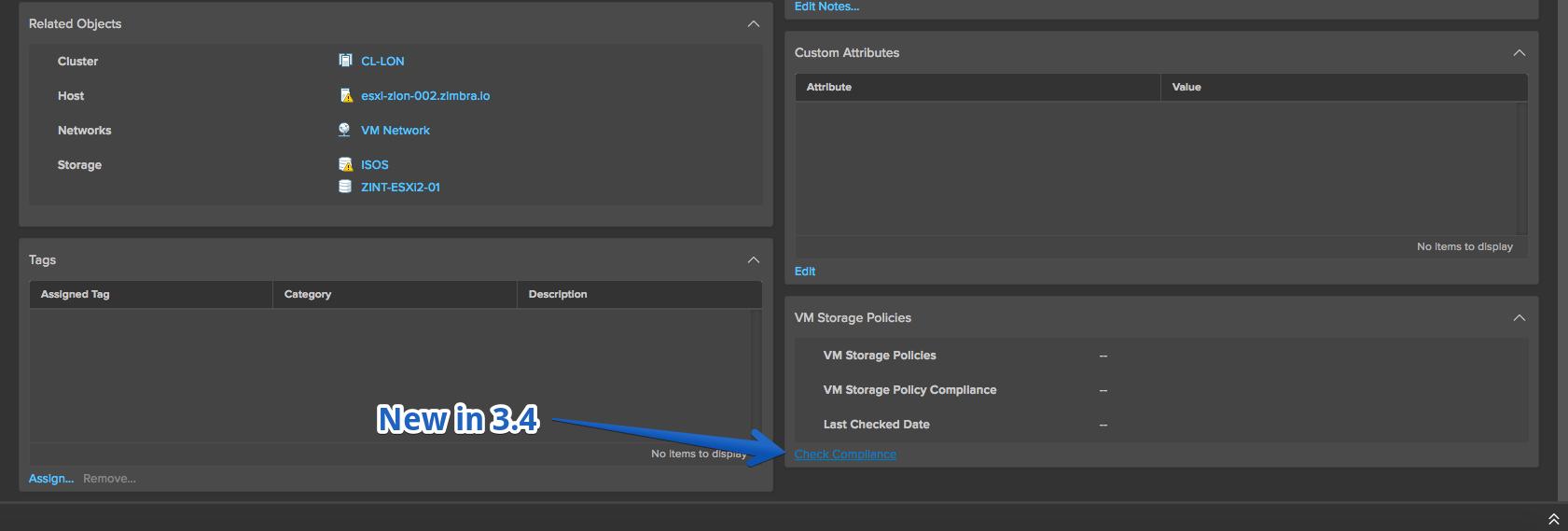 VMware: vSphere HTML5 Web Client Fling - Changelog v3 10 and below