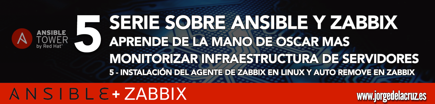Ansible y Zabbix (5): Instalación del agente de Zabbix en Linux y