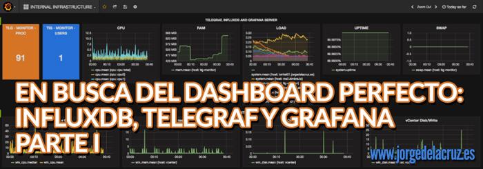 En busca del Dashboard perfecto: InfluxDB, Telegraf y