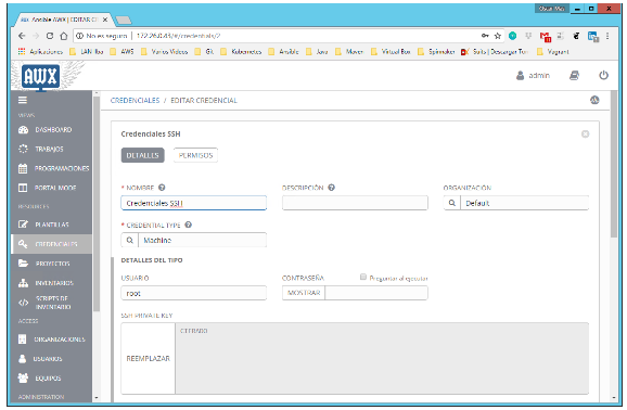 Ansible: Qué es AWX, instalación, configuración, PlayBooks para